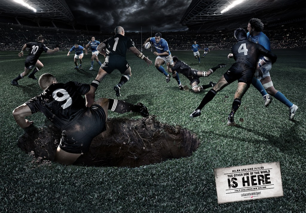 RUGBY ALL BLACKS